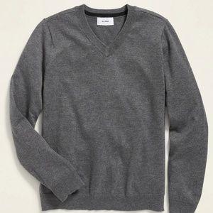 Old Navy Boys V neck Cotton Sweater
